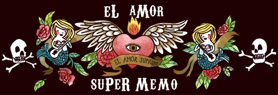el amor super memo