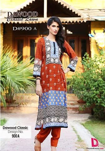 Dawood Classic Vol-2 Summer Lawn Collection 2015