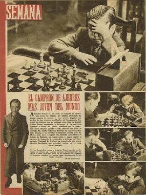 Arturito por mar en la revista SEMANA en 1943
