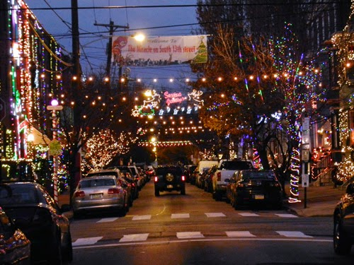Here and Next: Christmas Lights & South Philly