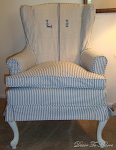 Slipcovered Wingchairs