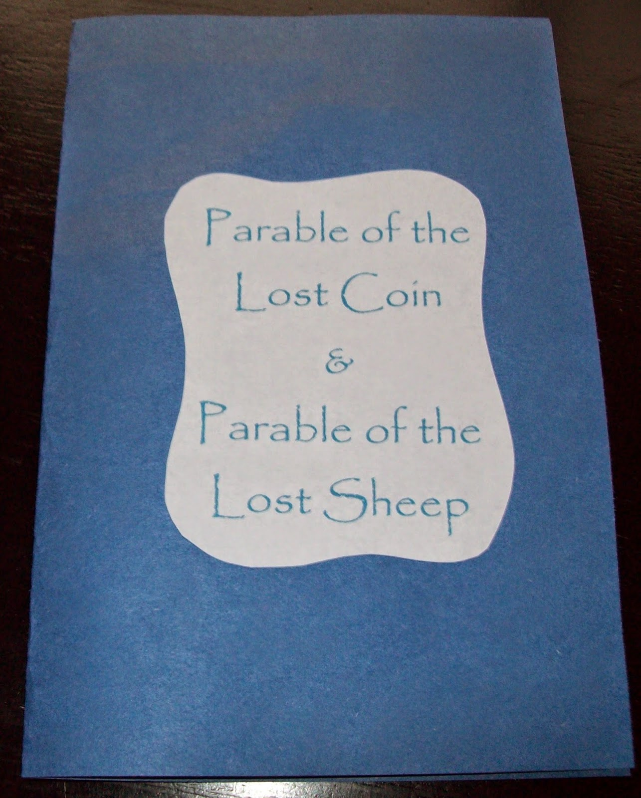 Aprils Homemaking Parable Of The Lost Coin And Lost Sheep Lesson