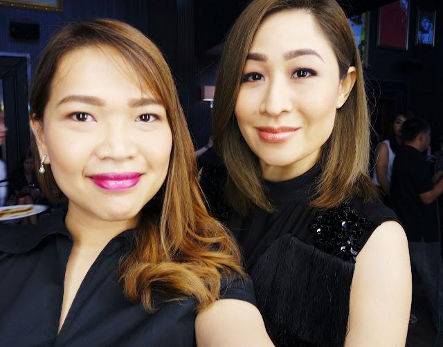 A photo of Agoo Bengzon sharing tips on brows