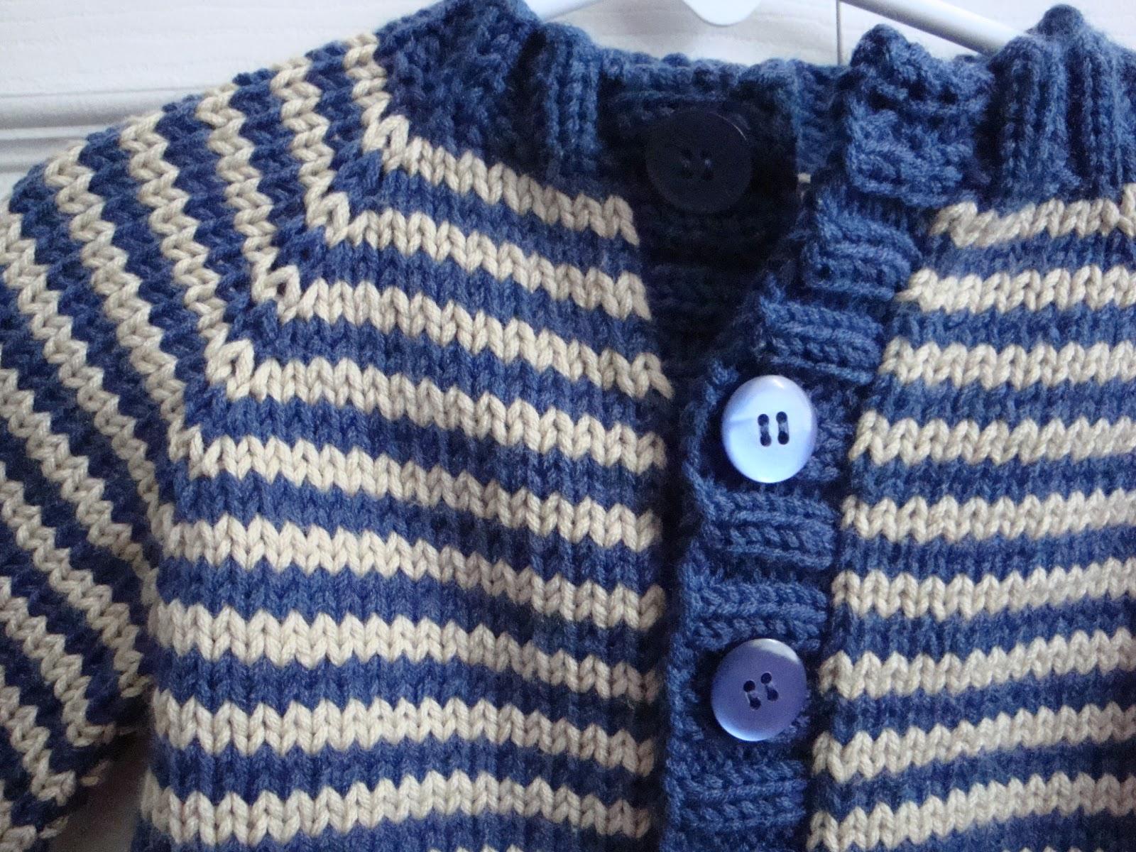 Boy Sweater Knitting Pattern : Kims Knitting Korner: Little Coffee Bean Sweater: For Grants Baby Boy