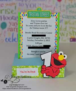 elmo baby shower
