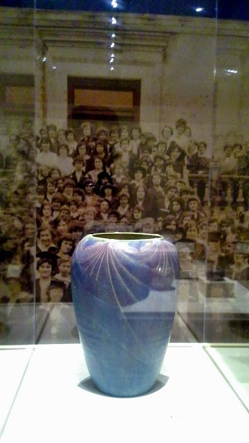 Smithsonian's Women, Art, + Social Change: Newcomb Pottery Enterprise Exhibit at Gardiner Museum in Toronto, ceramic, art, artmatters, culture, history, South, USA, Ontario, Canada, exhibition, The Purple Scarf, Melanie.Ps, PsCulture