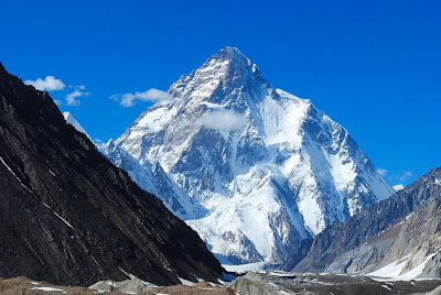 Beautiful Mountain K-2 Godwin Austin, Pakistan