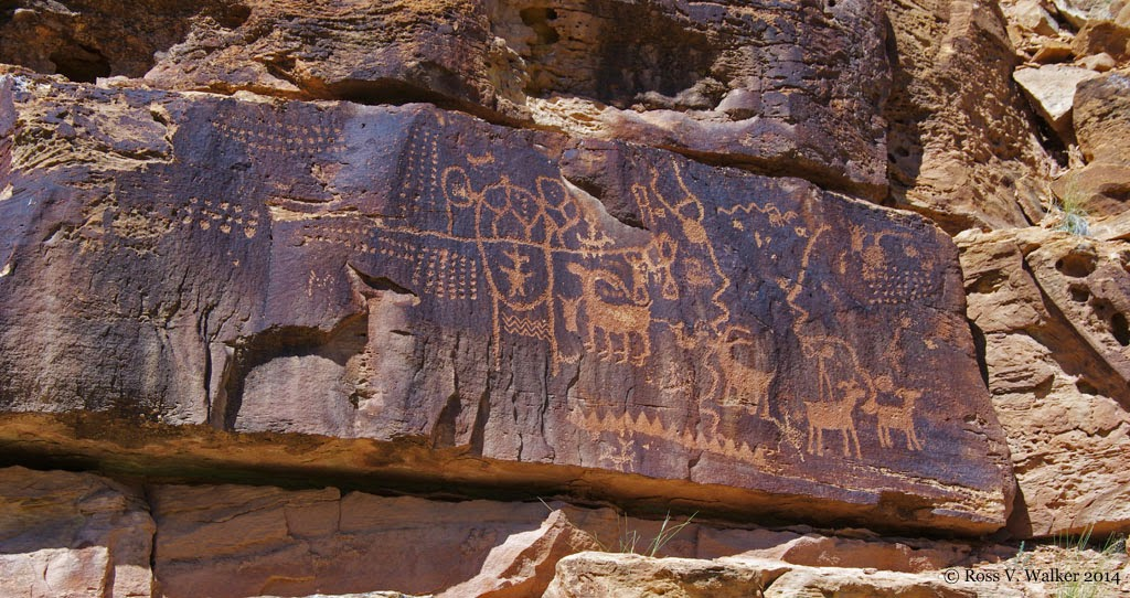 Petroglyphs Utah Nine Mile Canyon Nine Mile Canyon Rock Art