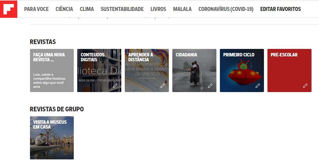 Flipboard da BE Gavião