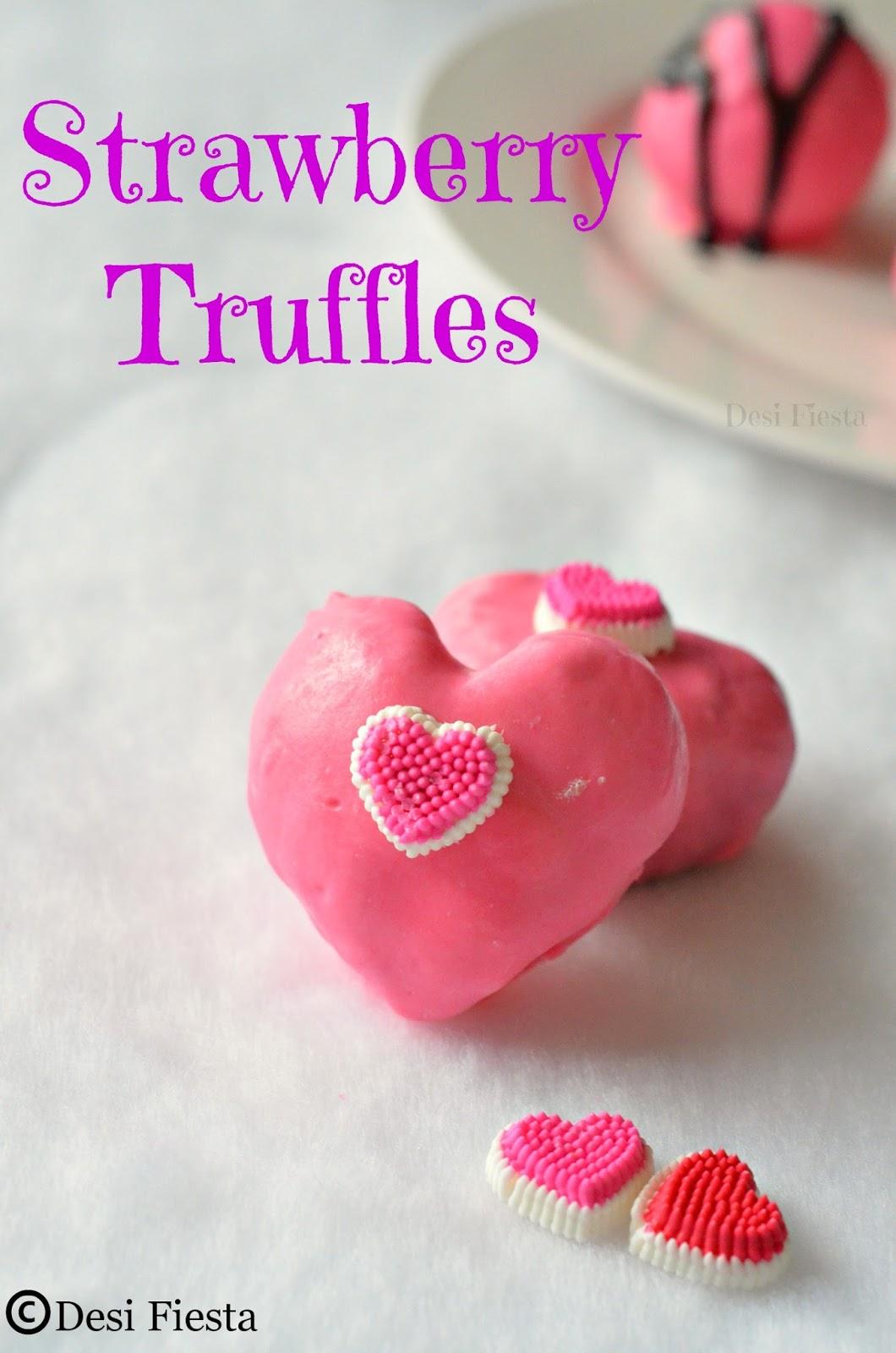 Heart shaped Truffles