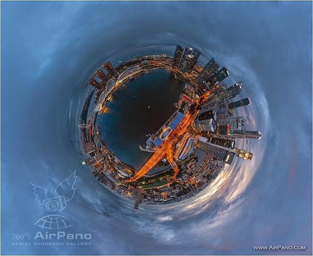 AirPano Planets, fotografías panorámicas 360º, Singapur