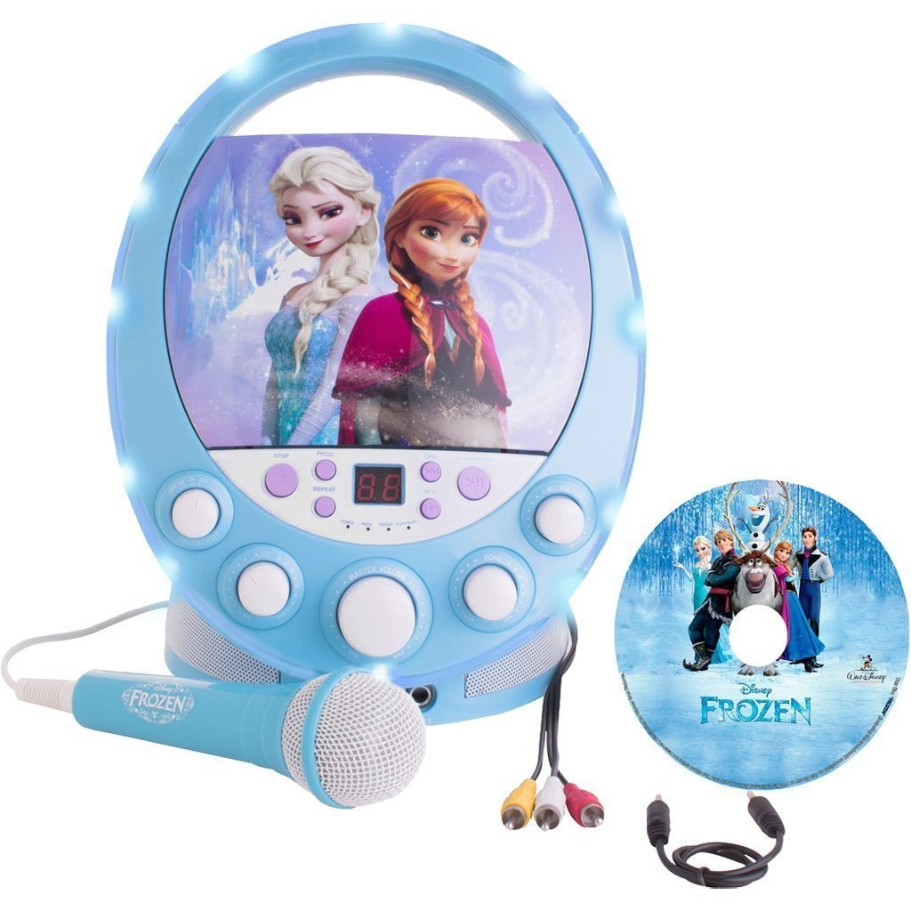 karaoke frozen come canta tu gig di rocco giocattoli roy toys giocattoli on line. Black Bedroom Furniture Sets. Home Design Ideas
