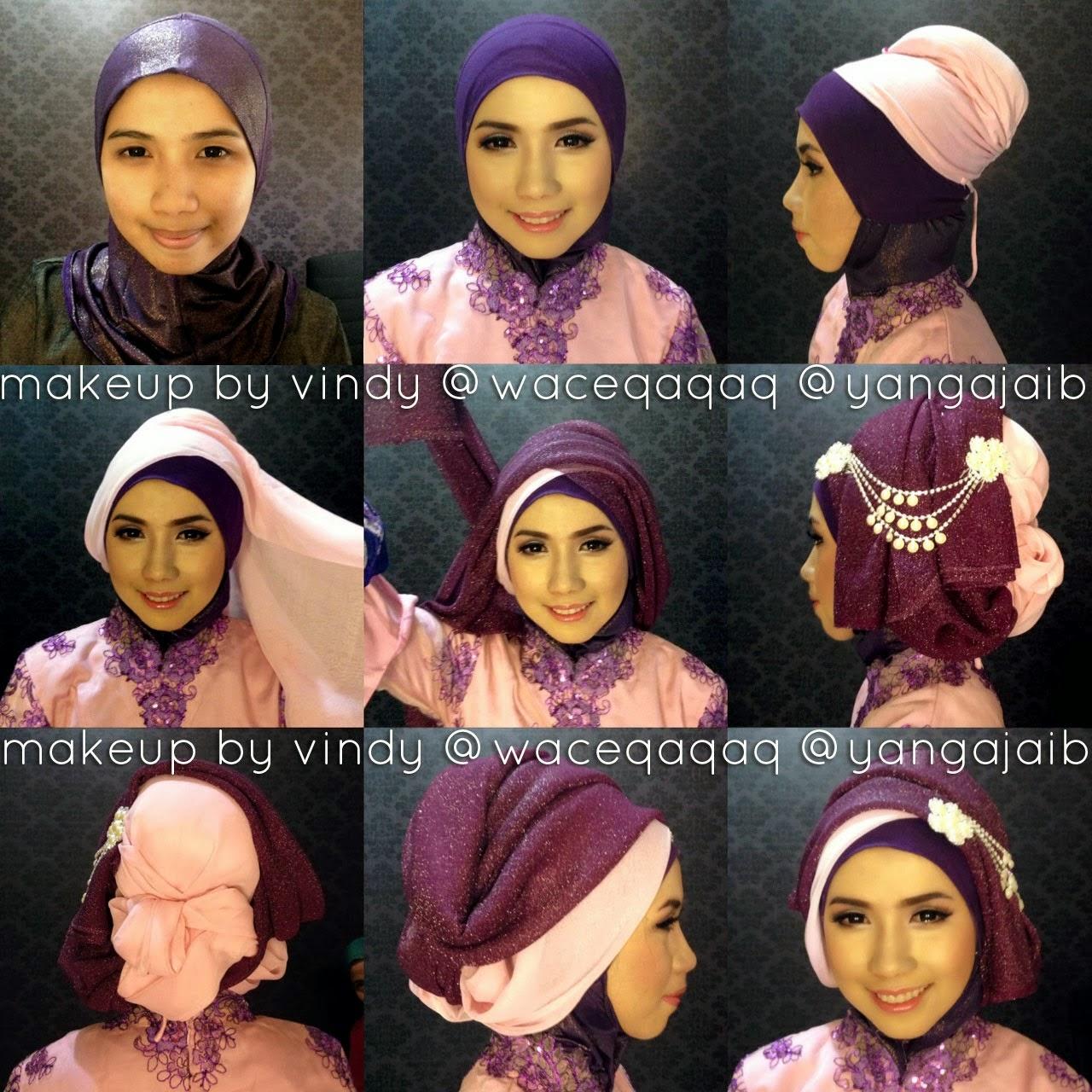 Model Jilbab Kebaya Juntai