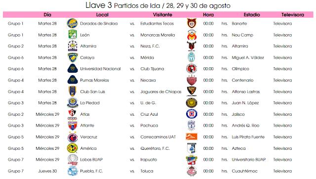 calendario de liga 06 07:
