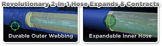 X Hose 世界唯一的伸縮水管 革命性