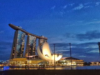 marina bay sands, art science museum