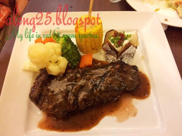 blog along25 steakhouse western sedap dan murah wadihana bangi