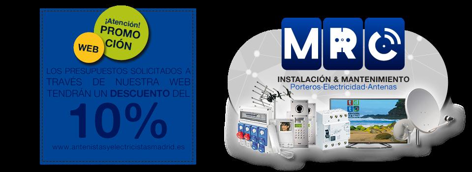 MRC Antenistas y Electricistas en Madrid. Dividendo Digital