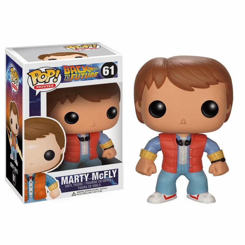 Cabezón Marty McFly Regreso al Futuro