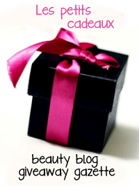Beauty Blog Giveaway Gazette
