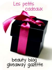 Beauty Blog Giveaway Gazette