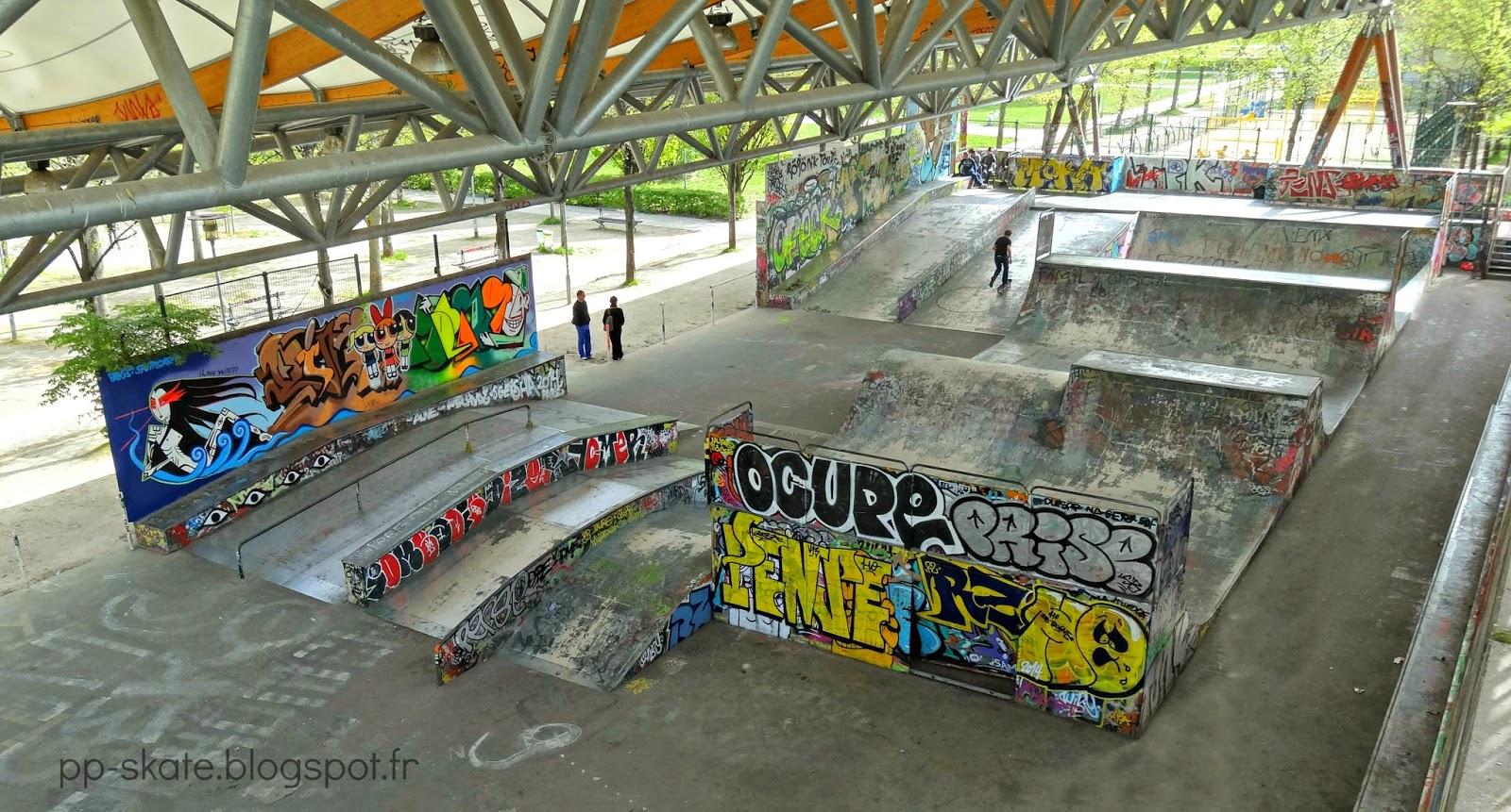 Le skatepark de Paris Bercy | Jackspots Y Intersection