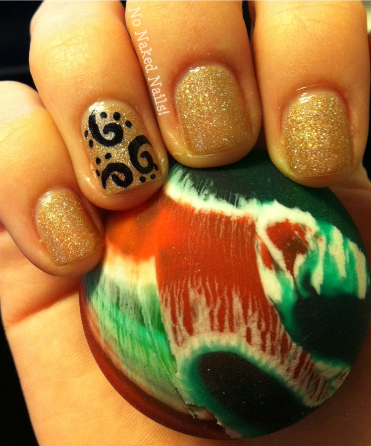 No Naked Nails!: Sharpie Nail Art