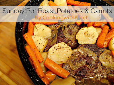 Sunday Pot Roast Potatoes and Carrots