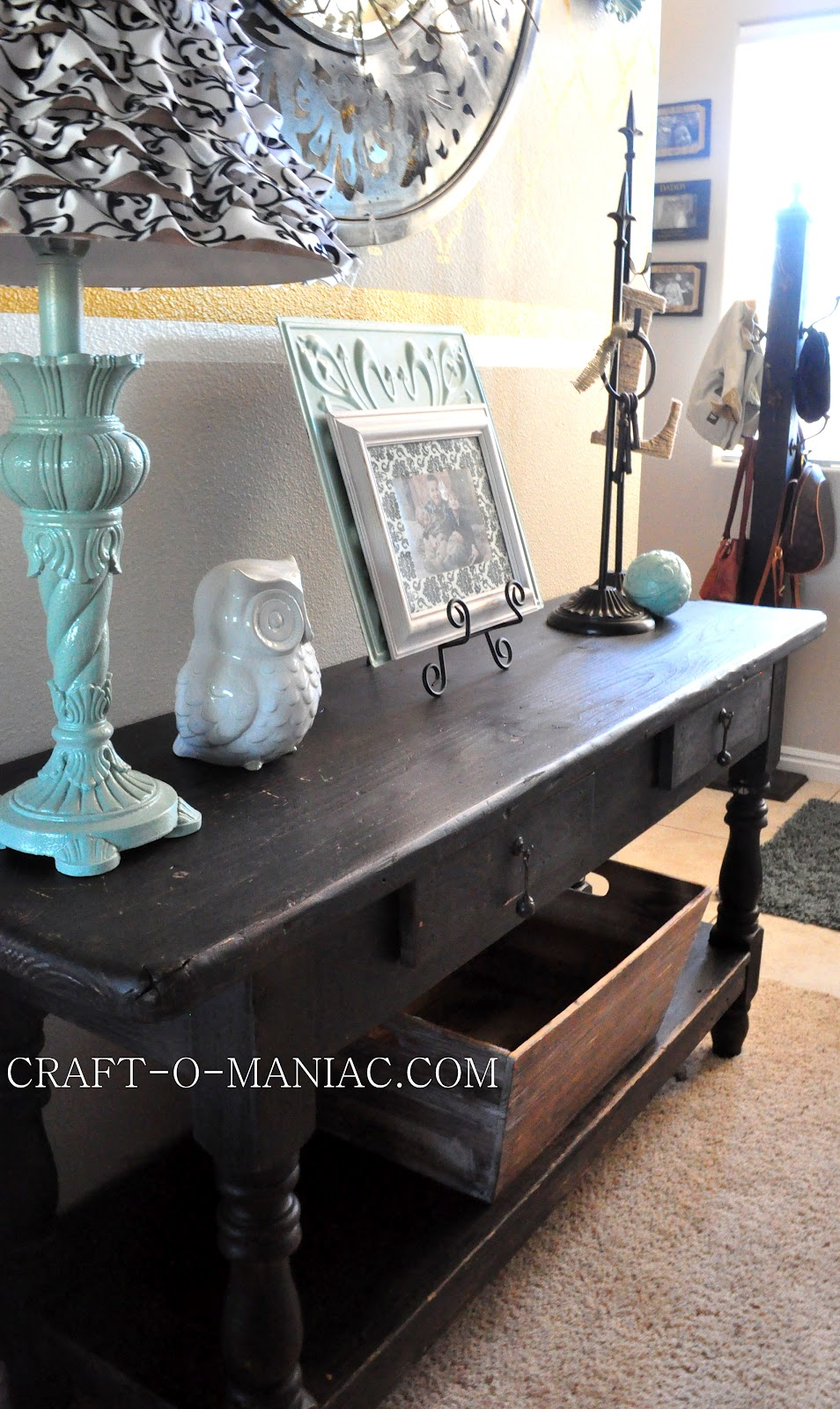 Home Decor New Entry Table From Craigslist