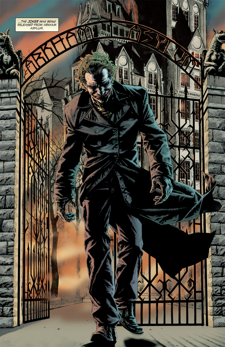 Comically Graphic: Graphic Novel Review: Joker Joker Comic Poster