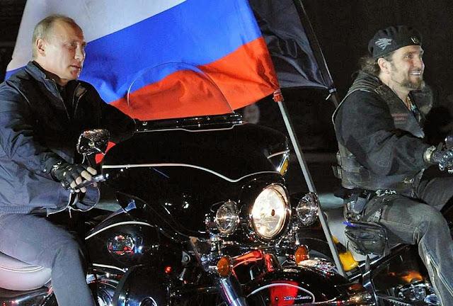 Putin: líder venerado dos 'Anjos do Inferno'