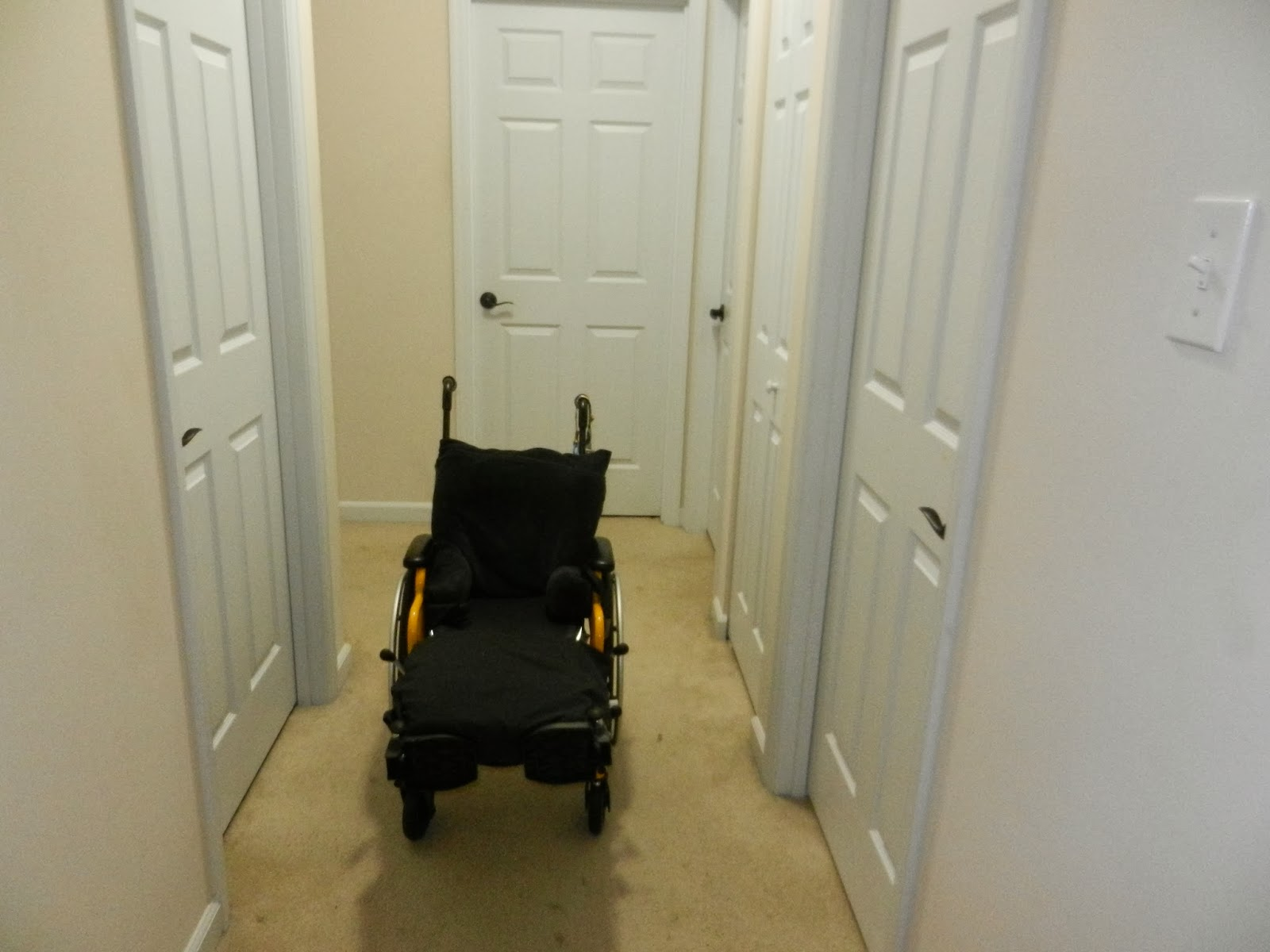 wheelchair accessible home hunt