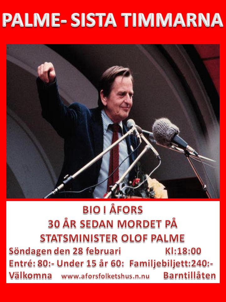 Olof Plame- De sista timmarna