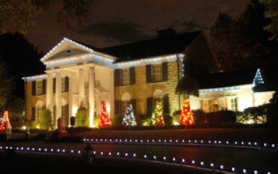 Graceland Christmas Lighting