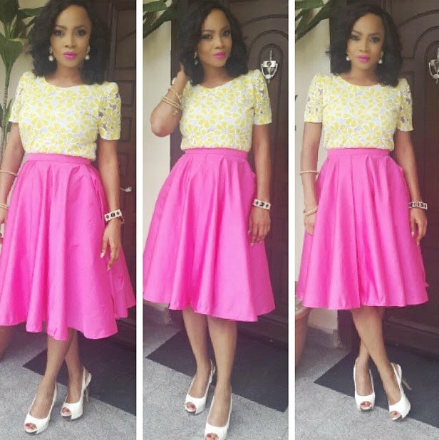 Toke Makinwa Lectures Unilag Students On Tackling Competition In Their Fields