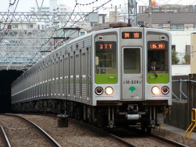 都営新宿線 各停 新宿行き2 10-000形220F