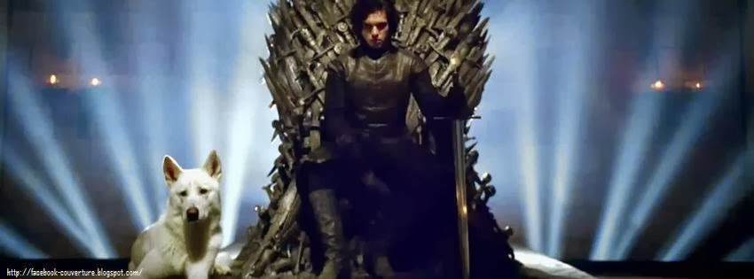 Couverture pour facebook game of thrones