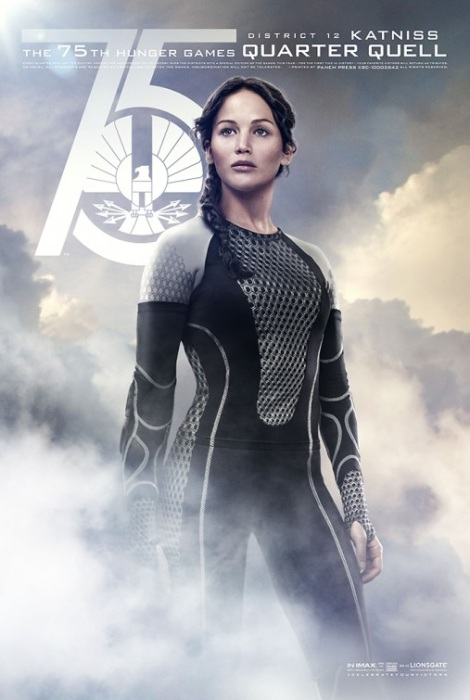 Katniss Catching Fire Movie Poster