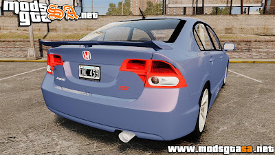 IV - Honda Civic Si 2008