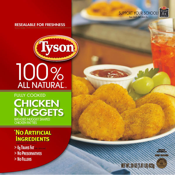This Is Tyson En Nuggets You Can Find Food At Almost Any Grocery That Carries Products When Put These In The Microwave