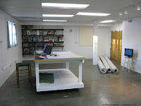 New Quilt Studio getting ready for carpet DIY
