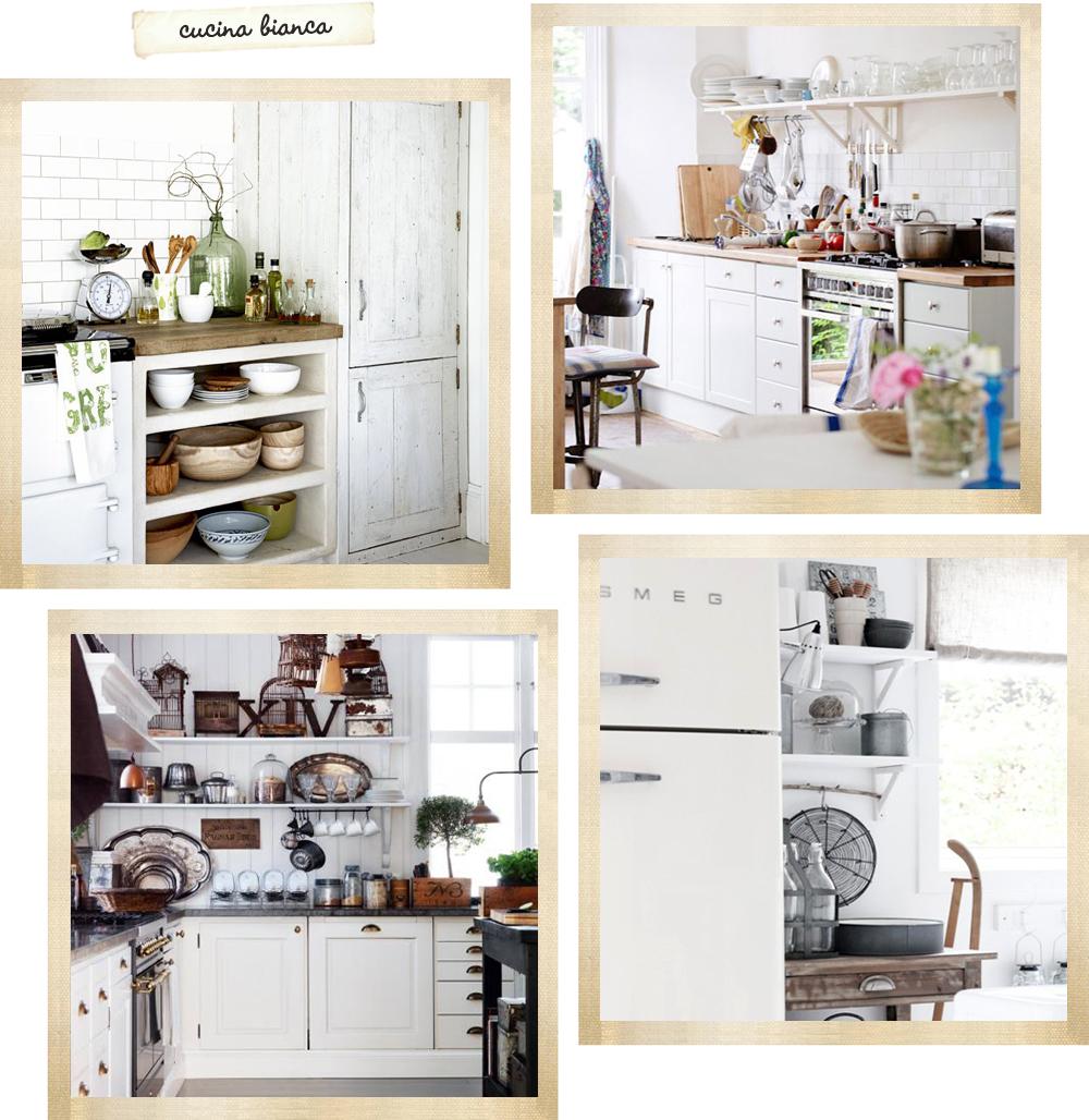 La cucina il regno della casa shabby chic interiors for Piccola cucina grande casa