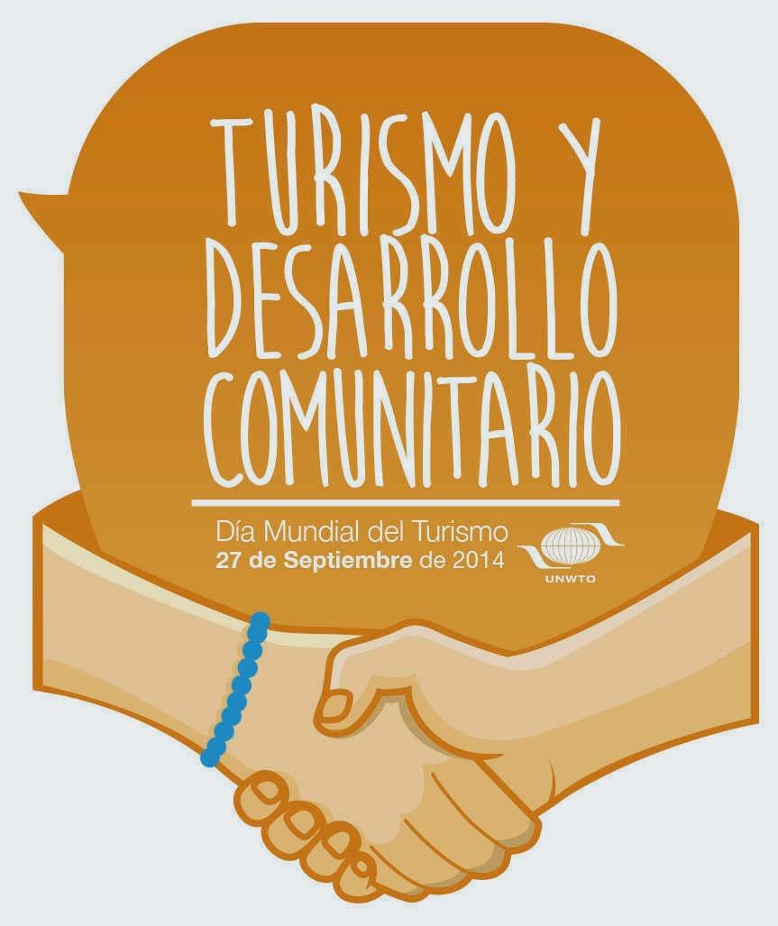 Logo Dia Mundial del Turismo 2014