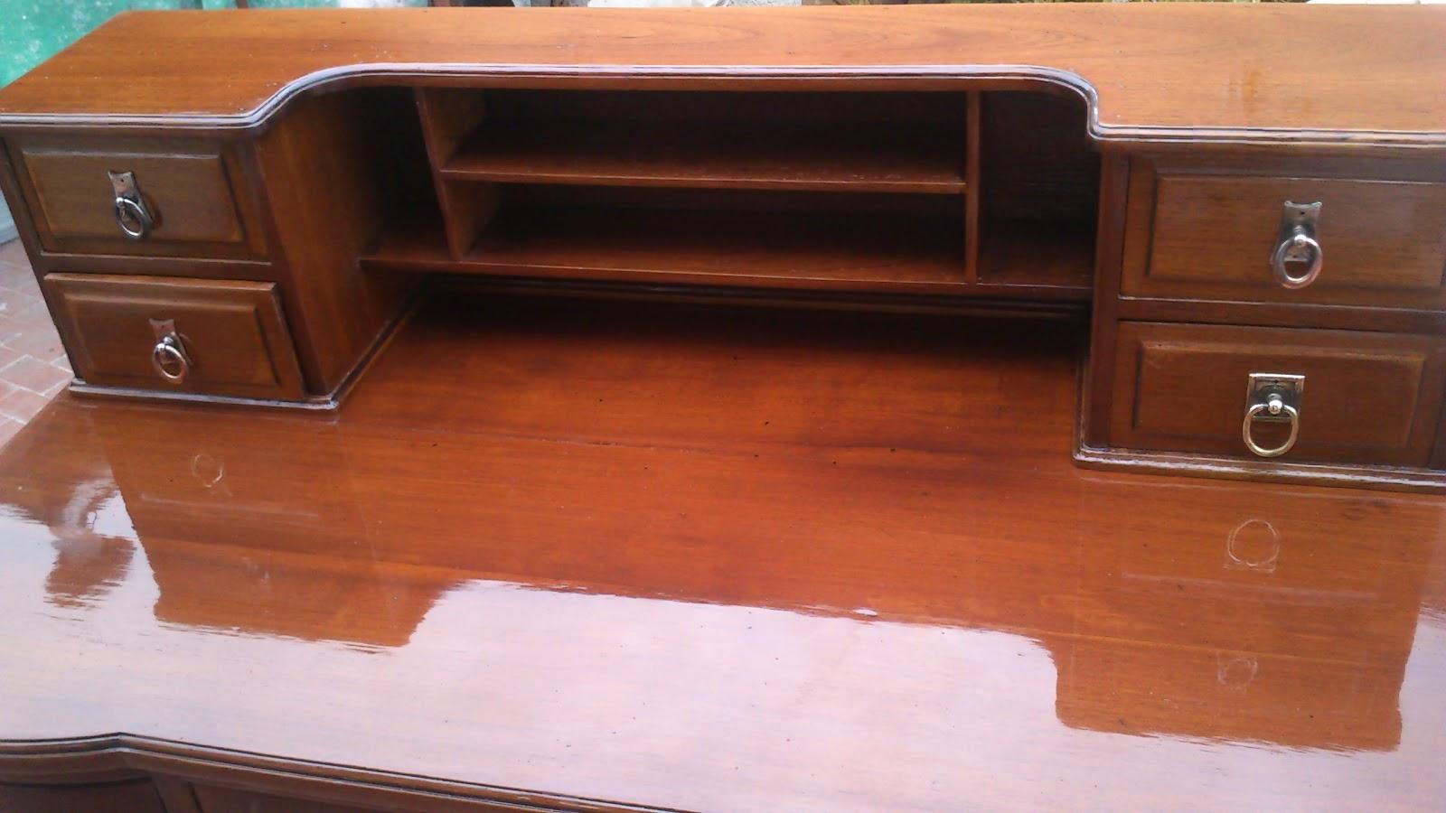 Los restauradores anes y despues secreter unico color - Restauradores de muebles ...