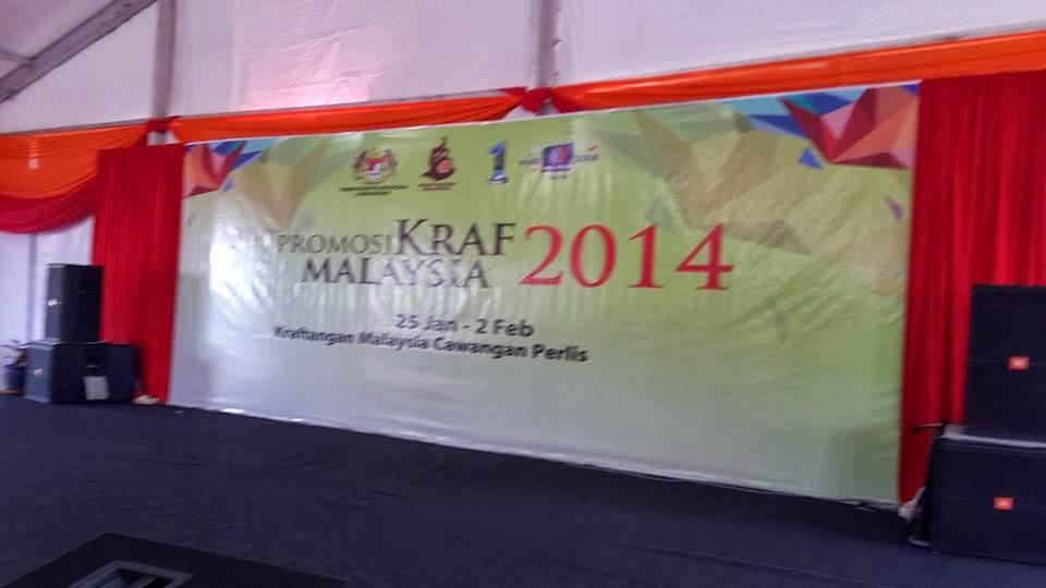 Pameran Kraf di Pusat Kraf Batu 5 Jalan Kuala Perlis