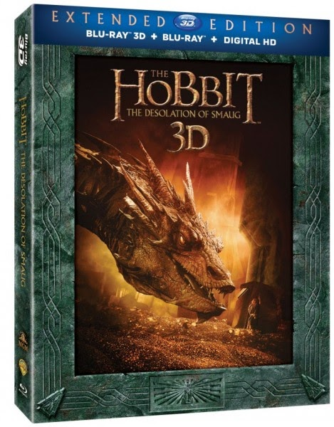 The Desolation of Smaug Extended Edition Blu-Ray