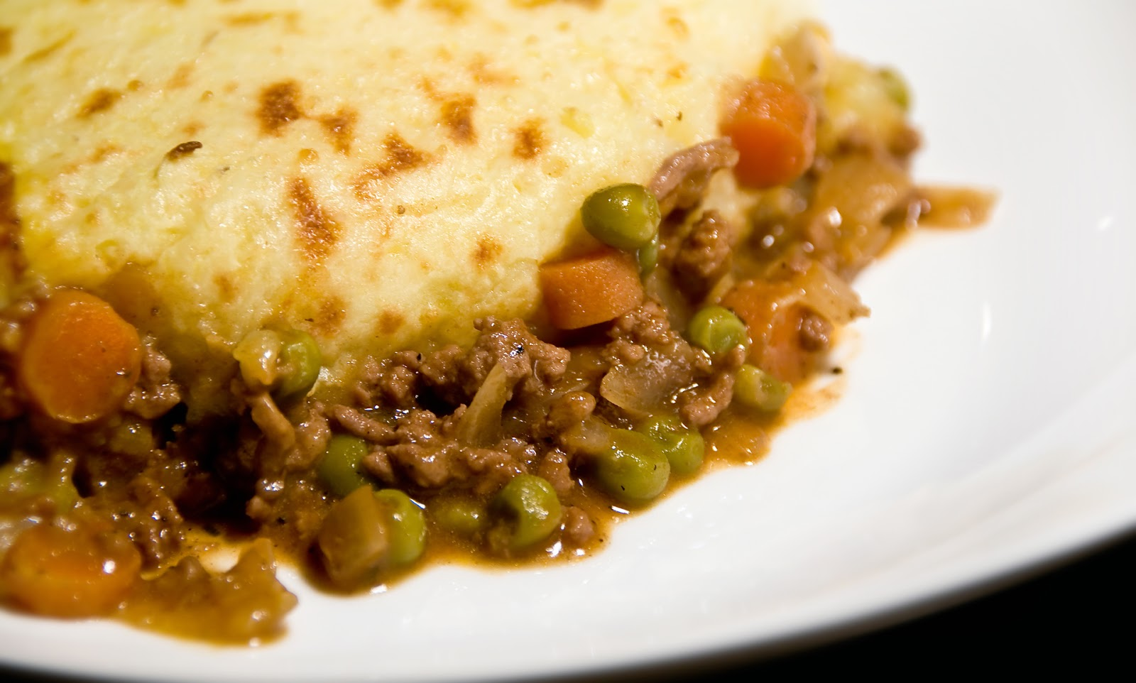 Shepherd's Pie with Sweet Potatoes and Ground Lamb