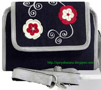 Tas Raflesia WHPO Flower Denim