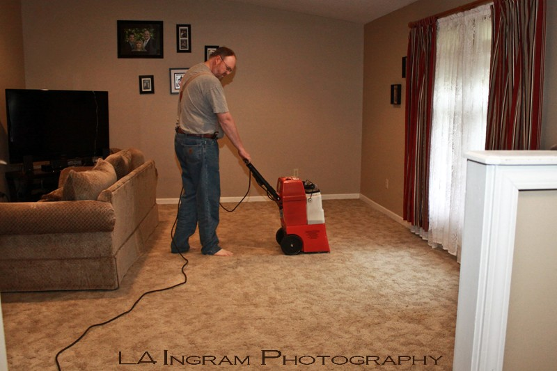 how to clean carpet at home by myself