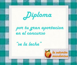 "Diploma Concurso ""S la leche"""